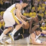 Cavs waste James' stellar Game 5 in 104-91 loss to Warriors