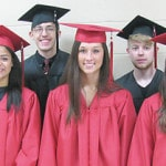 Scholarships awarded at CL Baccalaureate service