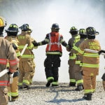 Local firefighters learn oilfield incident response