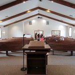 Gethsemane Baptist Church holds first service in new building