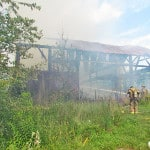 Fire destroys Franklin Twp. barn
