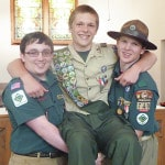 Conrad achieves Eagle Scout