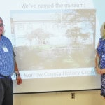 """""""The Morrow County History Center"""" is name of Historical Society Museum"""