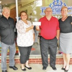 Baillie Lumber Company gives gift to Community Center