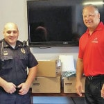 Dental office donates to military project