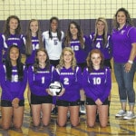 Mount Gilead volleyball