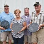 Three recognized for outstanding fair support