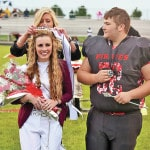 Snyder, Levings crowned at Cardington homecoming