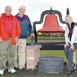 Century-old Victory Bell dedicated on permanent site