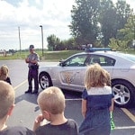 Highland students honor law enforcement officers