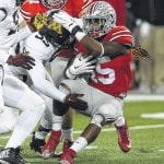 Ohio State wins with offensive falloff