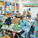 C-L first graders part of overseas project