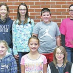 C-L Intermediate Students of the Month for October