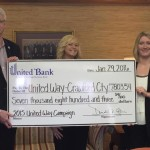 United Bank makes donation to United Way of Crawford County