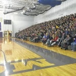 Drug and Alcohol Awareness and Prevention hosts speaker to talk substance abuse with Mount Gilead Middle School students