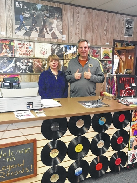 mount gilead record store turns tables on local music scene morrow county sentinel. Black Bedroom Furniture Sets. Home Design Ideas