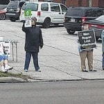 Protest against Planned Parenthood held Saturday