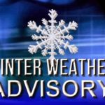 Weather advisory calls for snow, ice Tuesday morning