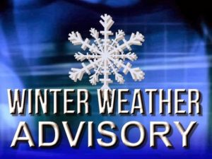 Winter Weather Advisory tonight, Wednesday for Morrow County
