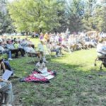 Mount Gilead State Park venue for outdoor worship service