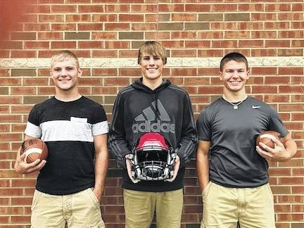 C-L High School homecoming king candidates 2017, all seniors, from left, Daniel Kill, Garrett Wagner and Tyler Villella.