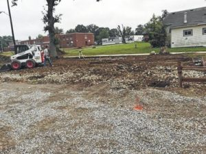 Work begins on Marengo park pavilion