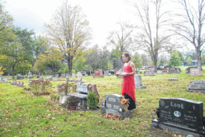 Hometown Heroes recalled with cemetery tour