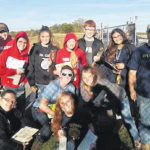 FFA soil judging teams compete