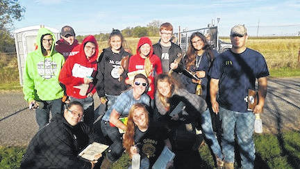 The Mount Gilead High School FFA soils judging teams competed at the District 6 soils contests near Urbana. The Urban Team of Zach Lester, Brittany Kuykendall, Morgan Beck, Makenzie Strahm, Rachel Davis and Xavier Nells. Placed 5th out of 21 teams qualify for the state contest. Zach placed 7th, Brittany was 11th, Morgan placed 32nd, Makenzie was 33rd, Rachel was 43rd and Xavier placed 63rd out of 100 contestants. Zach, Brittany, Morgan and Makenzie advanced to the state contest on Oct. 14. The Rural team of Jacob Kirkland, Joshua Sullivan, Holly Gompf, Alexis McCoy, Taylor Stephen and Nick McKinney placed 1st out of 24 teams advancing to the state contest. Jacob was 1st, Joshua placed 10th, Holly was 15th, Alexis placed 18th, Taylor was 23rd and Nick placed 57th out of 127 participants. Jacob, Joshua, Holly and Alexis will also compete at the state contest.