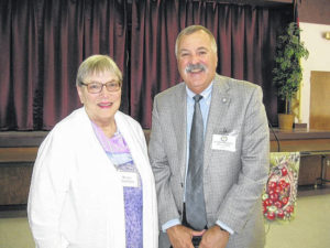 Retired teachers hold luncheon