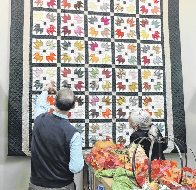 The 1997 HeritageDay Signature Quilt contains the names of 116 individuals and families from the area.