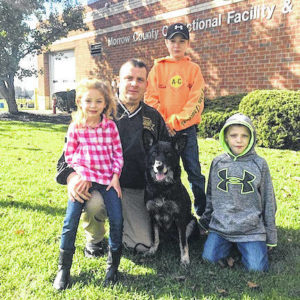Dixie retires as K9 officer