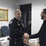 Officer's actions save man's life