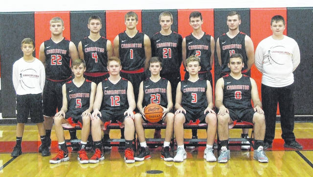 Cardington's boys' basketball team is in the above picture.