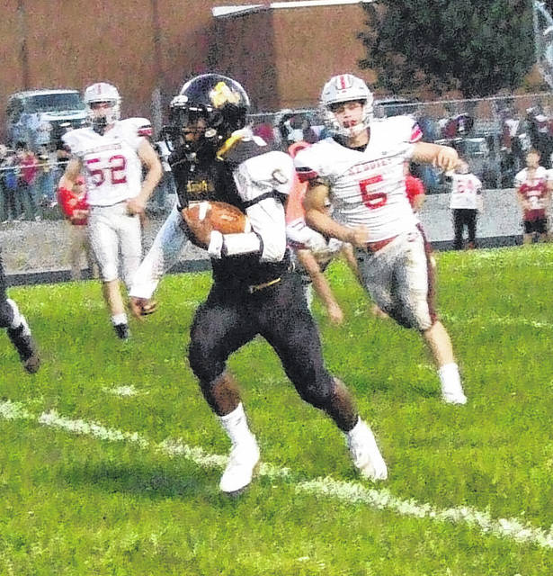 Northmor's Demetrius Johnson was named the Offensive Player of the Year for the Central District's Division VI.