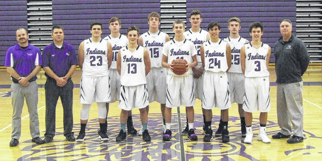 Pictured above is Mount Gilead's varsity boys' basketball team.
