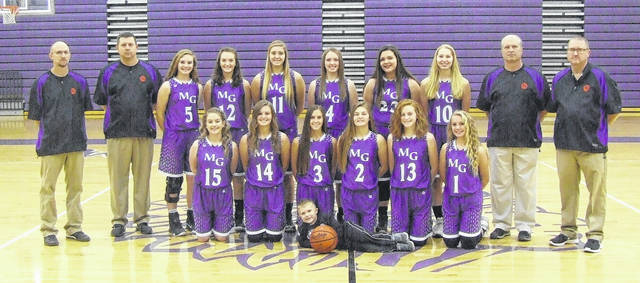 Mount Gilead's girls' basketball team is in the above picture.