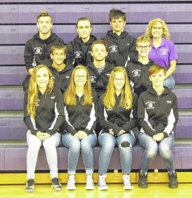Pictured above is Mount Gilead's swim team for this winter.
