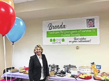 Brenda Harden retired from Morrow County Job and Family Services after 22 years of service with the Child Support agency. Brenda volunteers and serves on various boards throughout the county. Her dedication and service are greatly appreciated.