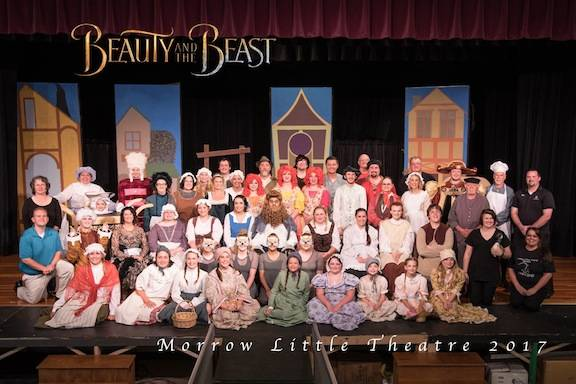 Cast and crew of Beauty and the Beast from July.