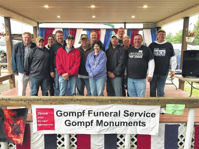 These businesses and individuals just donated $1,200 to the Morrow County Joint Veterans Services for the replacement of the 20-foot by 30-foot American flag during the 2017 Pie Auction at the county fair. Century 21 Bob McElroy Realty, Morrow County Pork Producers, Charles Howland for Judge, Gompf Monuments, Jennifer Burnaugh for Judge, Brandon J. Strain, Auctioneer; Shaw Creek Propane, Don Wick for Judge, Wick Law Offices, Gompf Funeral Services, Mike Schnell, WVXG 95.1 FM.