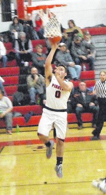 Cardington's Dylan Goodman poured in 11 points in the first half of his team's contest with Fredericktown Friday.