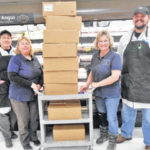 County Food Pantry receives 155 hams