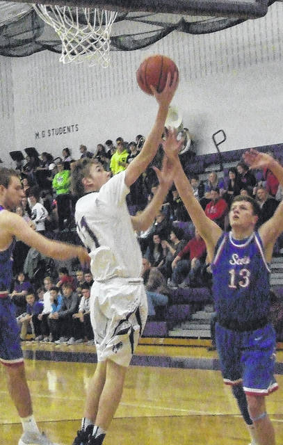 Mount Gilead's Jason Bolha tallied 23 points in leading the Indians to a Friday night win over visiting Highland.