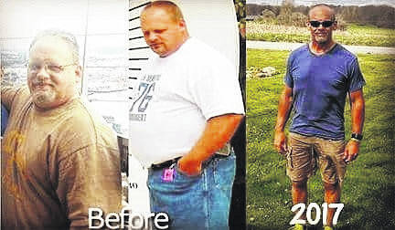 Scott Jones' weight loss.