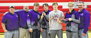 Four MG wrestlers tops in KMAC