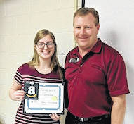 Brooke, Rich selected top students