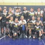 Northmor wrestlers off to state in dual meet tournament