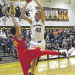 Knight boys open tourney with win