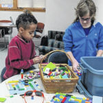 Library Lego Club meets at spring break